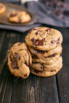 Delicious chocolate chunk cookies with a few special ingredients to take them over the top. There's no other chocolate chip cookies like these.