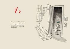 Modern ABC books for kids: Once Upon an Alphabet by Oliver Jeffers Board Books For Babies, Oliver Jeffers, Cool Mom Picks, Children's Book Illustration, Don't Give Up, Book Activities, Book Recommendations, Childrens Books, Alphabet