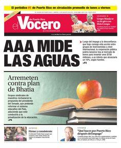 ISSUU - Edición 18 de Agosto 2015 by El Vocero de Puerto Rico