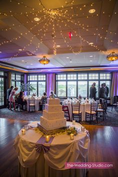 Wedding Reception At Makray Memorial Golf Club Photographed By The Studio Schaumburg Il