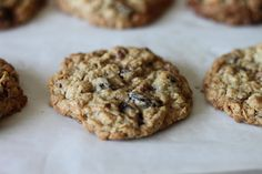 Raisin Pecan Oatmeal Cookies (orig. source: Barefoot Contessa Food Network)