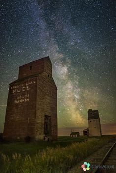 Milky Way Grain Elevators