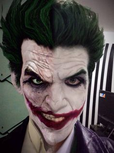 Arkham Origins Joker Cosplay Preview Comparison by AlexWorks.deviantart.com