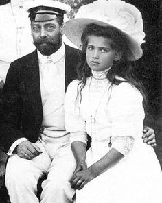 Jerzy V i Maria.