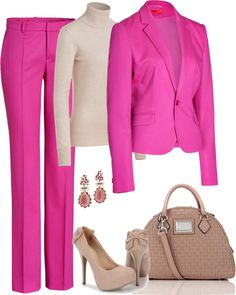 """""""Pink"""" by sil-engler on Polyvore"""