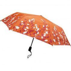 Brushwood Orange Travel Umbrella $30.00
