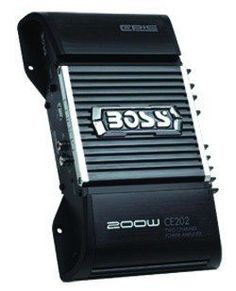 Boss Audio Systems CE202 200 Watts 2-Channel High Power Amplifier by BOSS. $25.55. 200 Watts, 2-Channel High Power Amplifier. Save 57%!