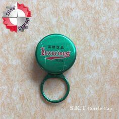 Plastic Bottle Opener Key Ring New Paraletic