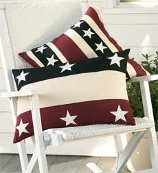 Americana Stars and Stripes Pillows