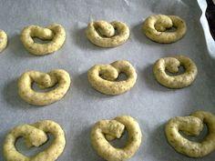 Greek Recipes, Party Snacks, Bagel, Scones, Tea Party, Cookies, Bread, Vegan, Baking