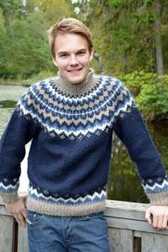 www.woolfetish.com  Love the high neck and pattern  #men's #sweaters