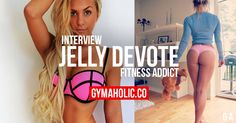 Interview Instagram Star Jelly Devote  http://www.gymaholic.co/fitness/interview-instagram-star-jelly-devote  #fit #fitness #fitblr #fitspo #motivation #gym #gymaholic #workouts #nutrition #supplements #muscles #healthy