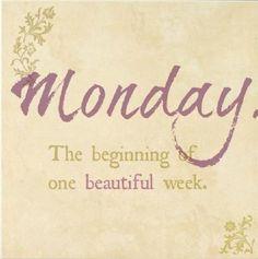 Happy Monday & New Week