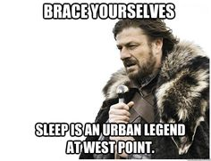 Sleep is an Urban Legend at West Point