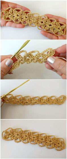 Crochet Easy Flower Lace Tape Knitting ProjectsKnitting For KidsCrochet ProjectsCrochet Amigurumi Crochet Flowers, Crochet Lace, Crochet Stitches, Diy Flowers, Knitting Patterns, Crochet Patterns, Crochet Gifts, Crochet Things, Lace Tape