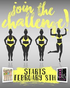 The NEXT Fit Girls Guide Group Challenge Starts Monday February 8th! Tap The Photo Above Foe Details.