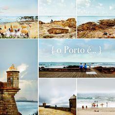o Porto é... junto ao mar