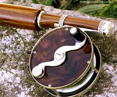 An exquisitely hand crafted rod and reel