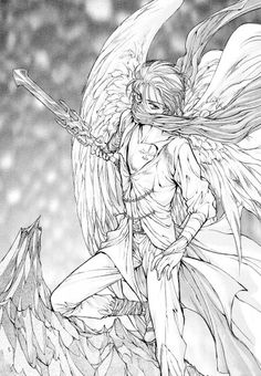 Kaori Yuki, Angel Sanctuary, Setsuna Mudo