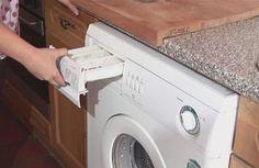 nettoyer les bacs à lessive de la machine