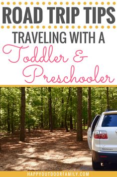 Are you going on a road trip for your family vacation? Check out these helpful road trip tips when traveling with a toddler and preschooler before you go! #roadtriptips #travelingwithkids #roadtripwithkids #toddlers #preschoolers