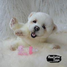 Umka polar bear cub By Maria Kalinina - Bear Pile