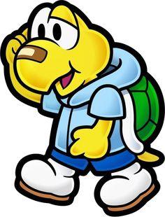 Koops - Super Mario Wiki, the Mario encyclopedia Super Mario Brothers, Super Mario Bros, Classic Cartoon Characters, Cartoon Icons, Paper Mario, Nintendo Characters, Mario Party, Mario And Luigi, We Bare Bears