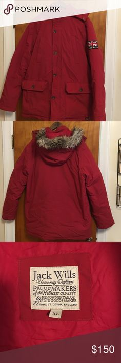 Jack wills Expedition Parka!!!! Men's size large down insulated expedition parka. Hooded, internal pockets, excellent condition!! Super warm for these winter months. Jack Wills Jackets & Coats Puffers