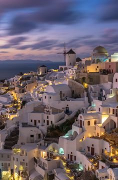 Autumn flow -Santorini