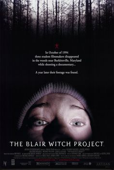 The Blair Witch Project was like a bad editing of a high school film project, but instead of filming something useful, they spent the whole time filming the frustrated arguing that goes on in between takes due to creative differences. Fun to watch with people who get scared by their own shadow