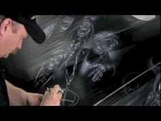 Mike Lavally King of air brush, Jack Osbournes BMW X5