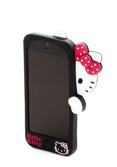 Should I switch from my wristlet to this? yes/no? - Hello, Kitty? iPhone 5/5S Case, #ModCloth