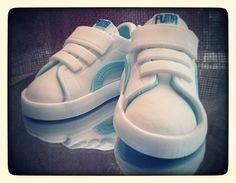 Baby Shoes Puma Cake Topper customize your by ValenasCustomCakery, $30.00