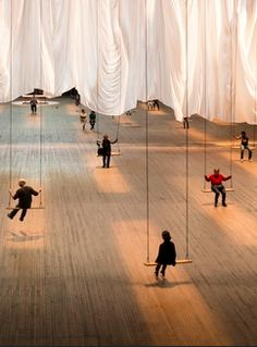 Ann Hamilton at the Park Avenue Armory