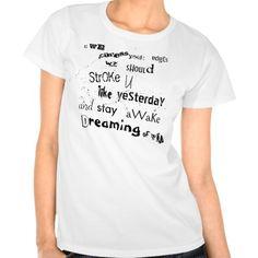 Lover's Poem Shirts