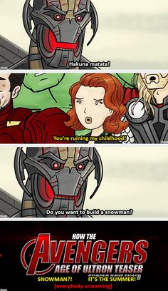 How the Age of Ultron trailer should have ended | You're ruining our childhood!