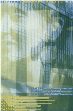 The Bauhaus Dessau Foundation 1997 promo series by Cyan Berlin