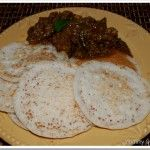 Palappam with rice flour