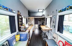 Modernist Matchbox is an off-grid micro-house in a micro-village : TreeHugger Love the matching windows - makes it feel so big! Tiny House Builders, Building A Tiny House, Tiny House Community, Loft Style, Off The Grid, Tiny Living, Traditional House, Small Spaces, Tumblr