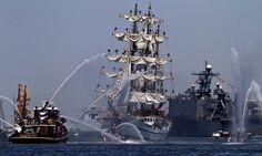 OpSail 2012 Parade of Sails into Norfolk. (Joe Fudge / June 8, 2012)