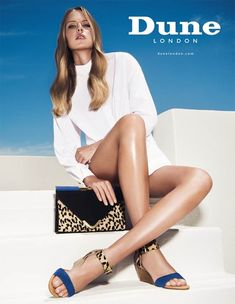 Dune London Shoes Campaign S/S 2014 by Thanassis Krikis