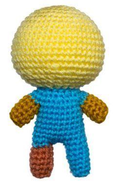 人型あみぐるみ素体の編み方