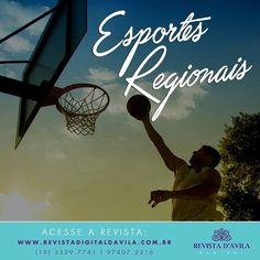 Aqui na Revista D'Ávila você se informa sobre Esportes Regionais e fica sempre por dentro das novidades