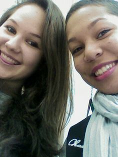 Girls we are in class ! Love her so much ! :)