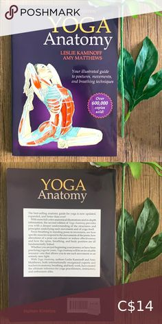 Book 📚 Yoga Anatomy by Kaminoff & Matthews Anatomical book by Leslie Kaminoff and Amy Matthews non-fiction Book Other Yahtzee Game, City Of Ashes, Book City, Yoga Anatomy, Malala Yousafzai, Sailor Moon Manga, Breathing Techniques, Margaret Atwood, Cassandra Clare