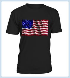 American Flag Waving Shirt (*Partner Link)