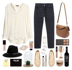 """""""Effie Oak"""" by sophiehackett ❤ liked on Polyvore featuring H&M, Monki, Mulberry, Zara, Dot & Bo, rag & bone, Eve Lom, By Terry, Topshop and Pier 1 Imports"""