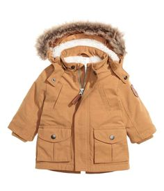 zara kids padded coat with side zip baby pinterest. Black Bedroom Furniture Sets. Home Design Ideas