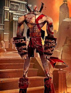 God Of War: Ascension por Patricio Betteo