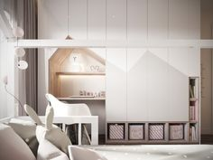 LUXURIOS SIMPLICITY - Picture gallery Small Room Design Bedroom, Kids Bedroom Designs, Kids Room Design, Modern Baby Furniture, Cool Kids Bedrooms, Baby Kind, Baby Room Decor, Girl Room, Room Inspiration